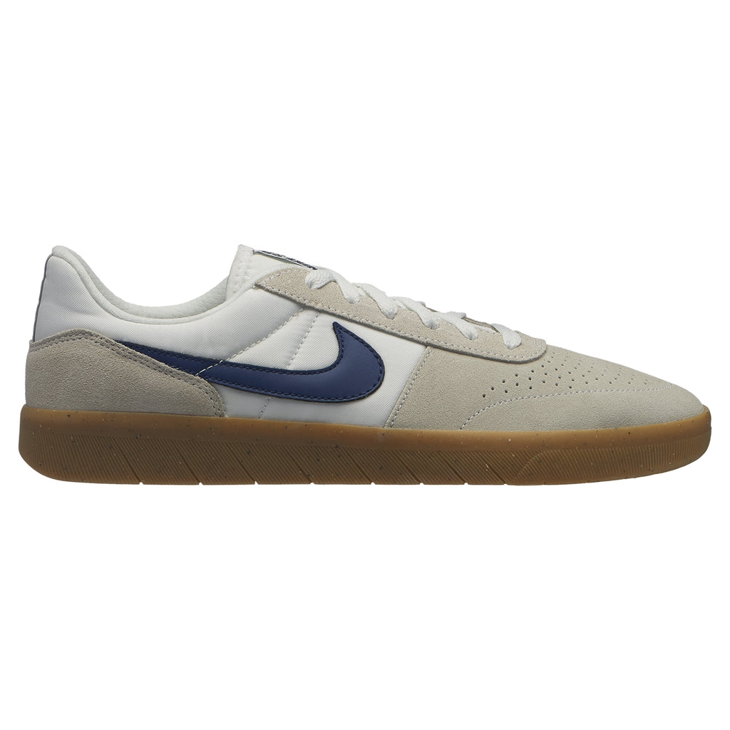 Nike SB Team Classic Shoes in Summit White / Blue Void - White