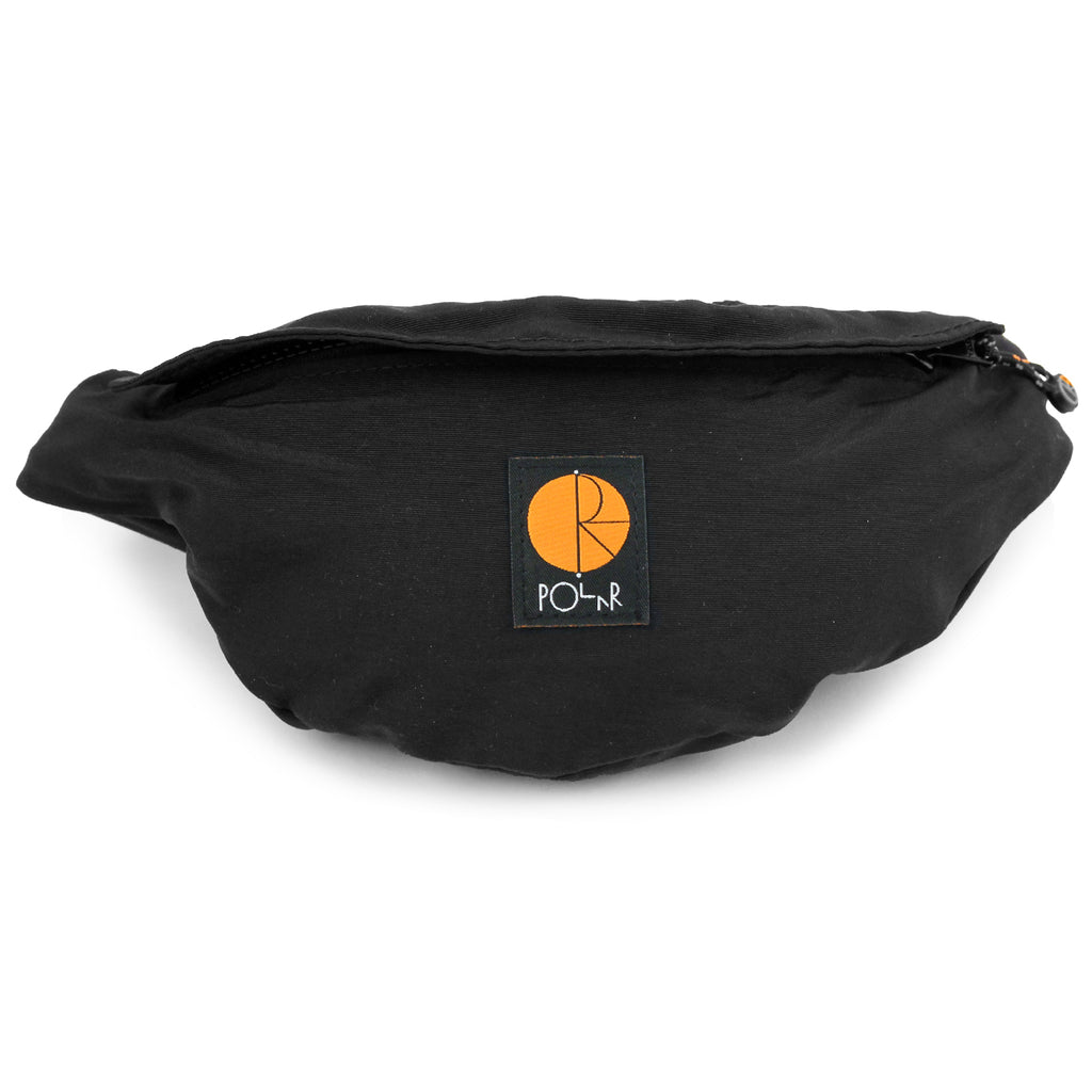 Polar Skate Co Nylon Hip Bag in Black / Orange