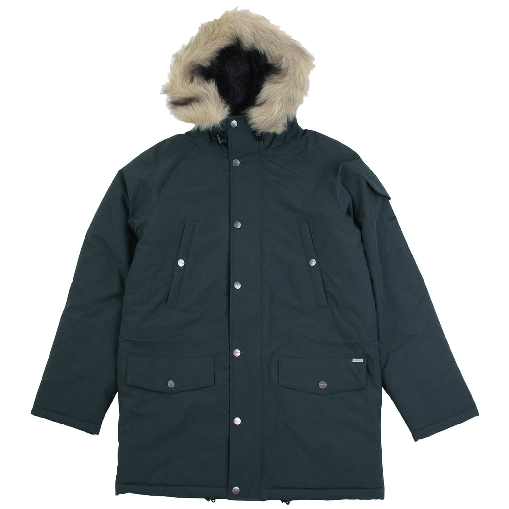 Carhartt Anchorage Parka Jacket in Dark Petrol / Black