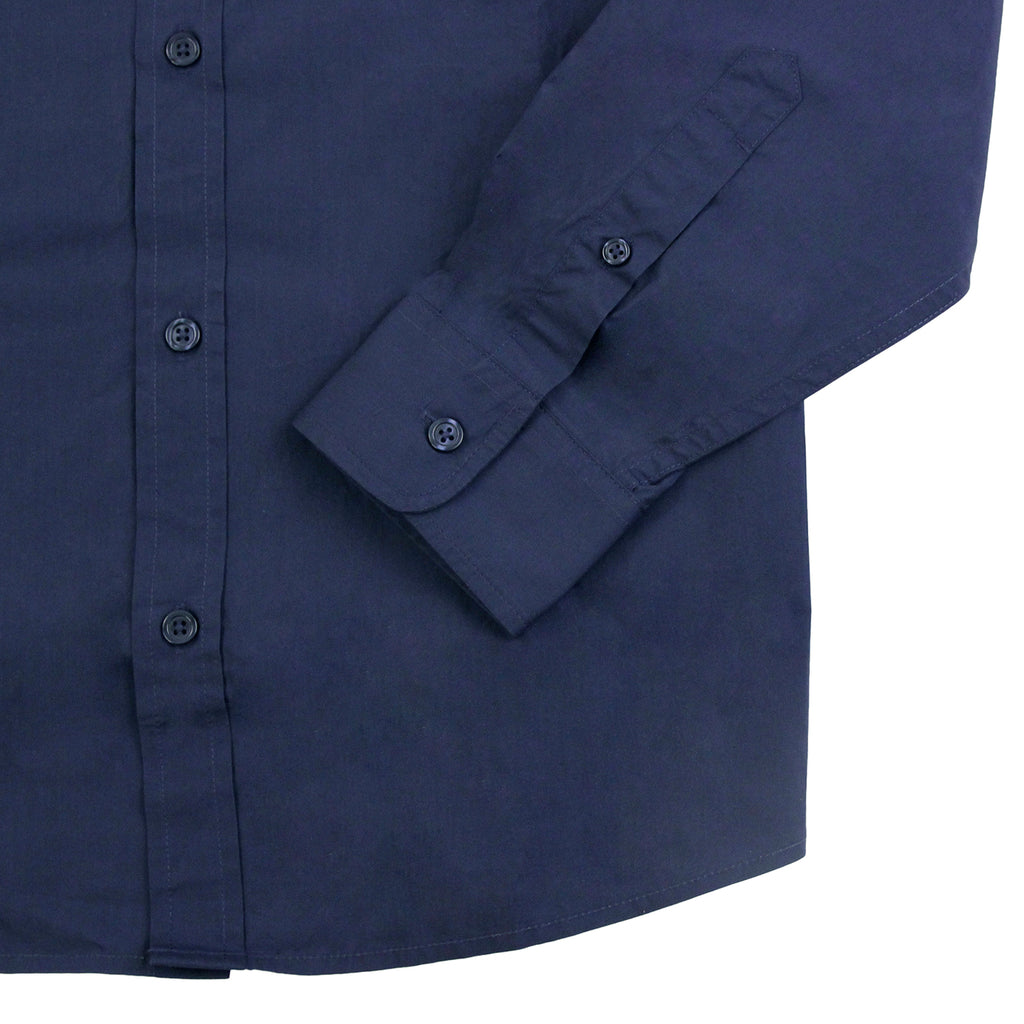 Carhartt L/S Wesley Shirt in Blue - Cuff