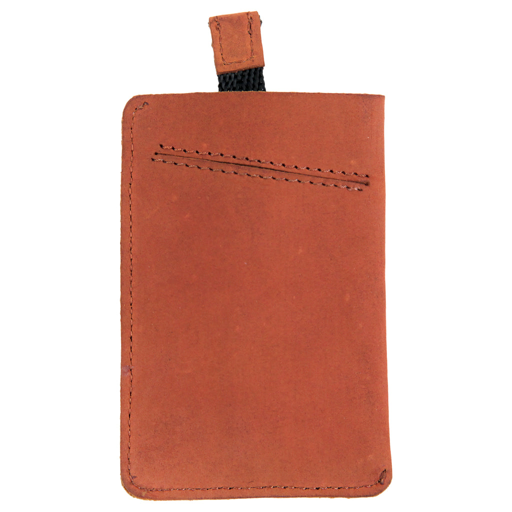 Dickies Larwill Card Wallet in Chestnut - Back