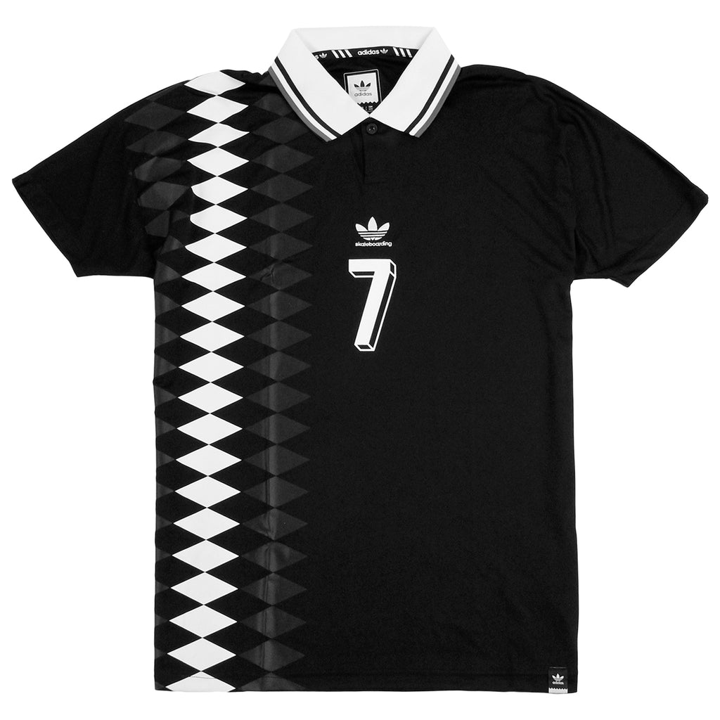 Adidas Skateboarding Lucas Copa Spain Jersey in Black