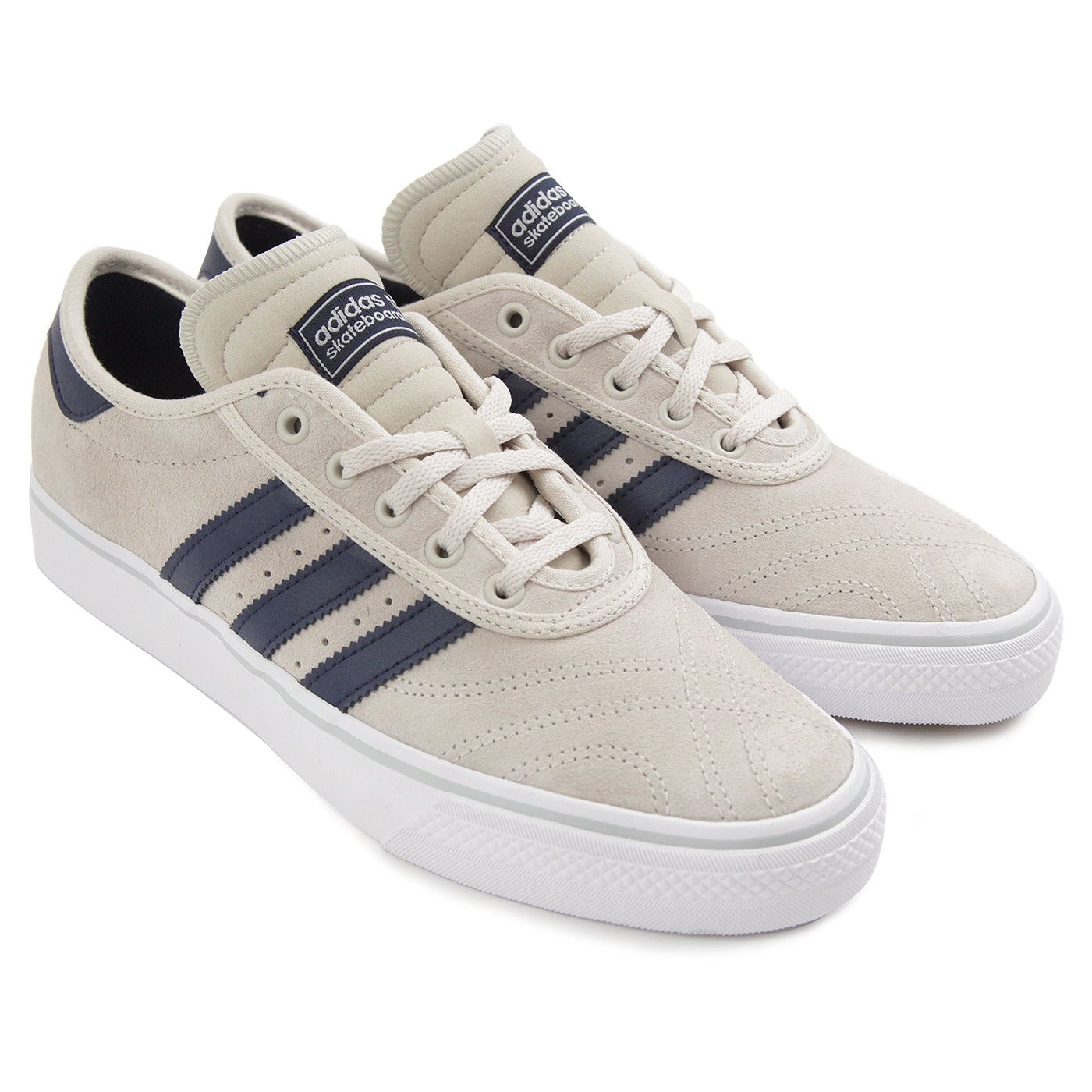 low priced 5079c 25fdb Adi Ease Premiere ADV Shoes in Clear Brown   Collegiate Navy ...