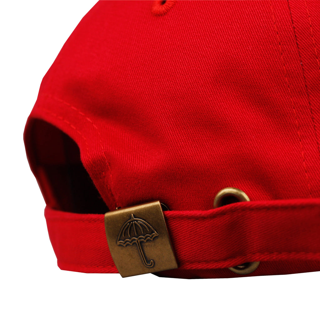 Helas H 6 Panel Cap in Red - Back
