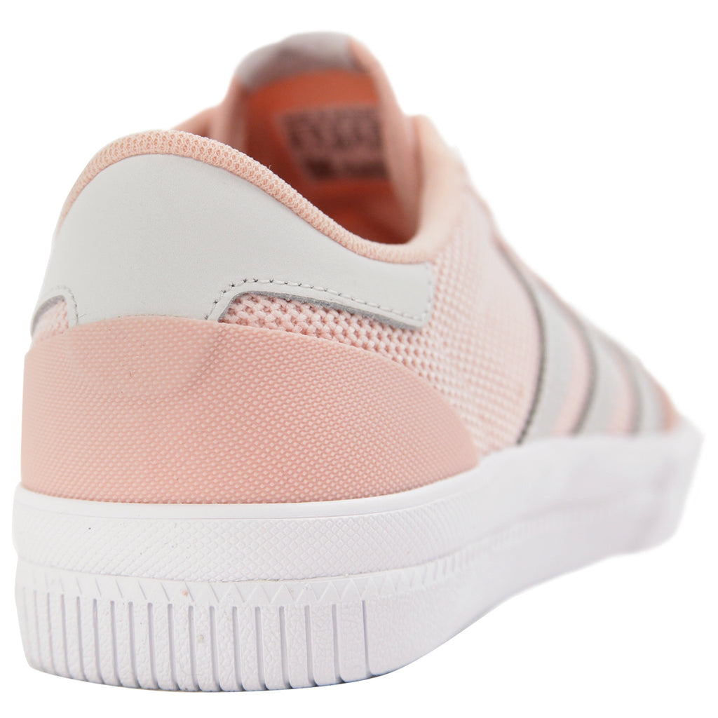 Adidas Lucas Premiere Shoes in Vapour Pink / Grey / Footwear White - Heel