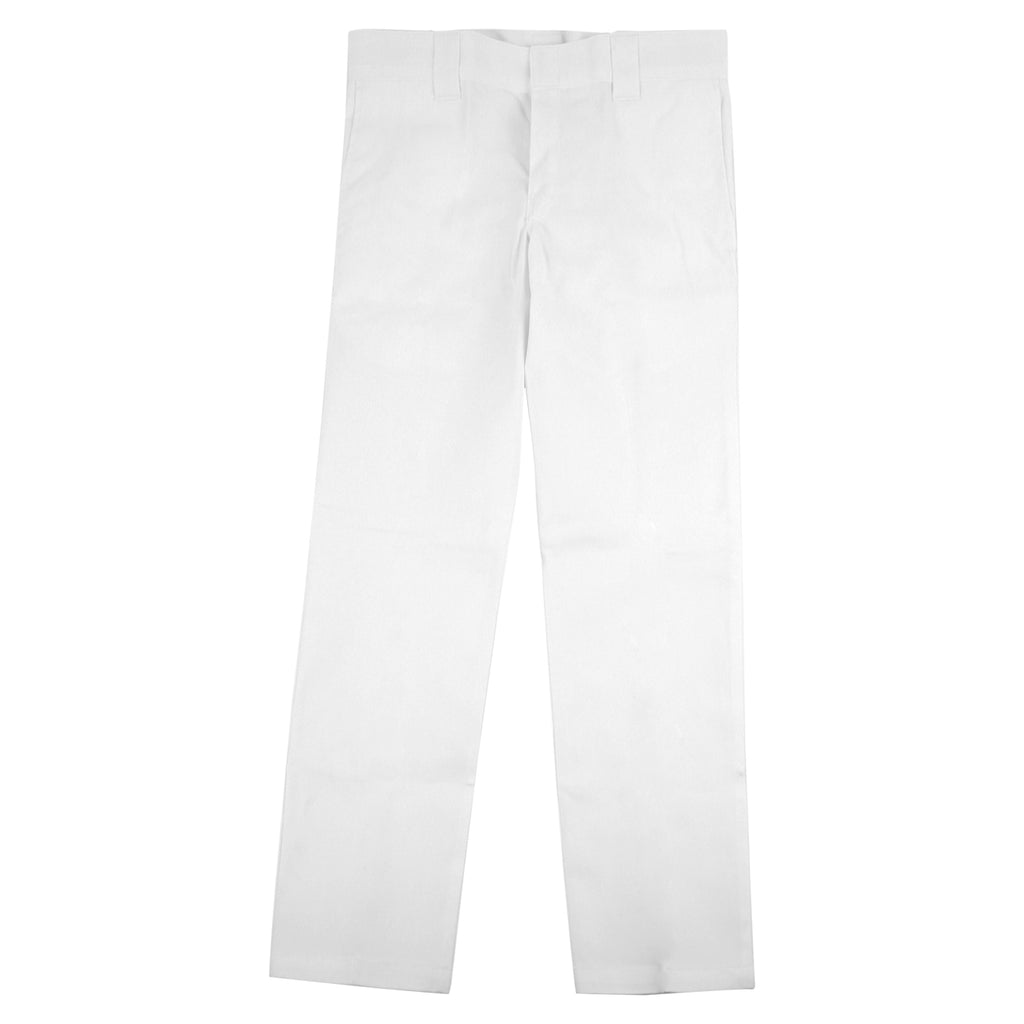 Dickies 873 Slim Straight Work Pant in White - Open