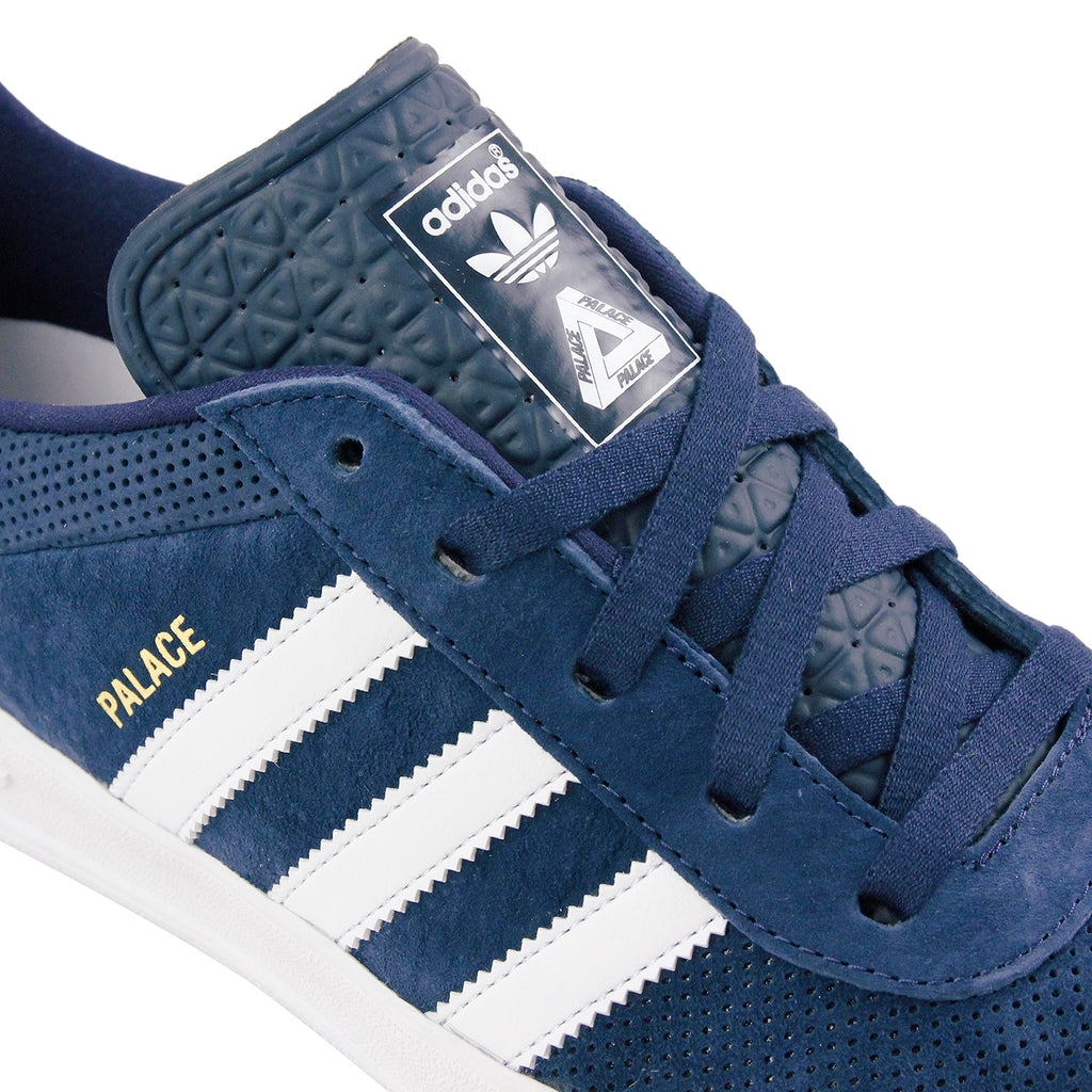 alace x Adidas Palace Pro Shoes in Night Indigo / FTWR White / FTWR Nightm - Detail