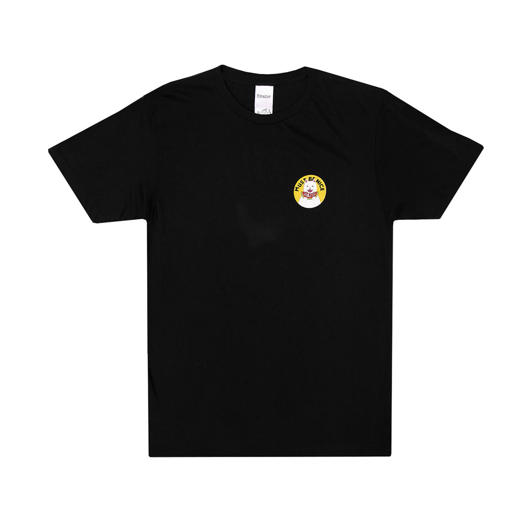 RIPNDIP Delicious T Shirt in Black - Front