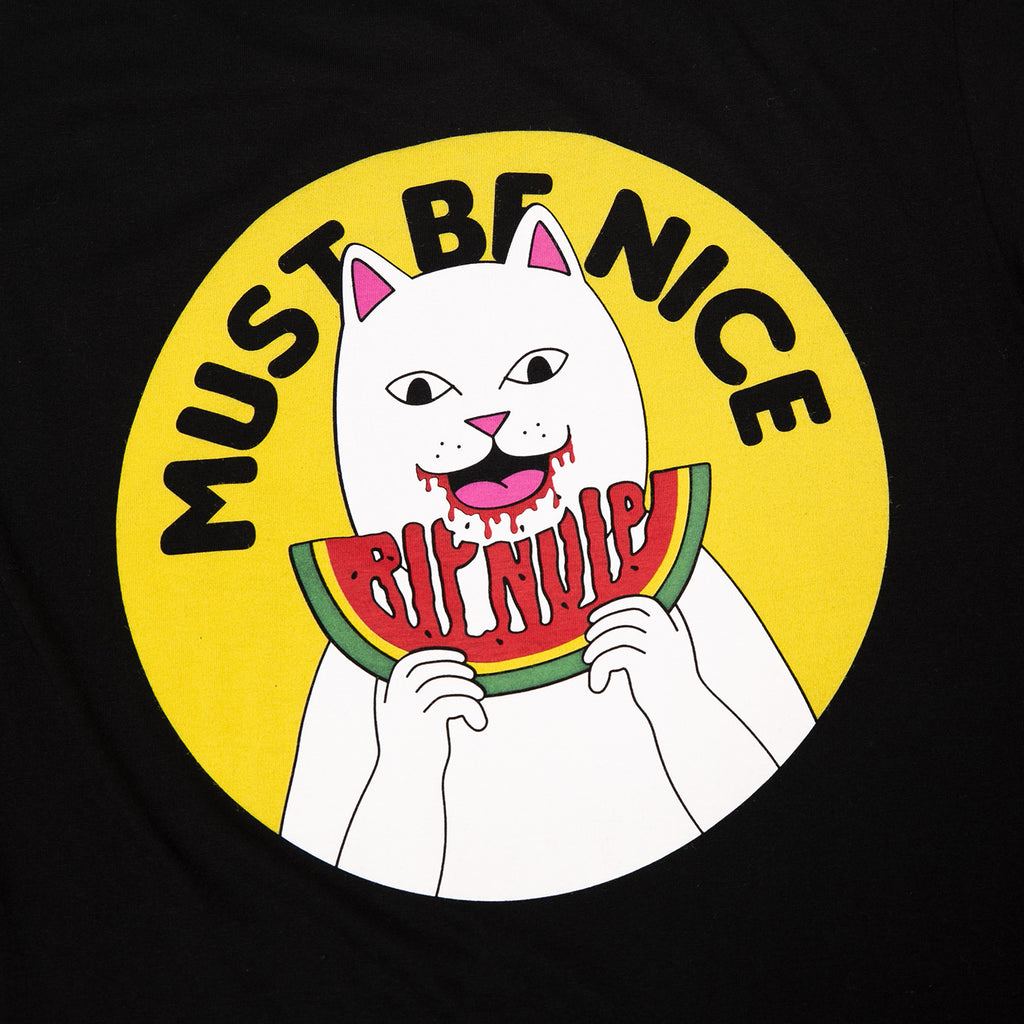 RIPNDIP Delicious T Shirt in Black - Backprint detail
