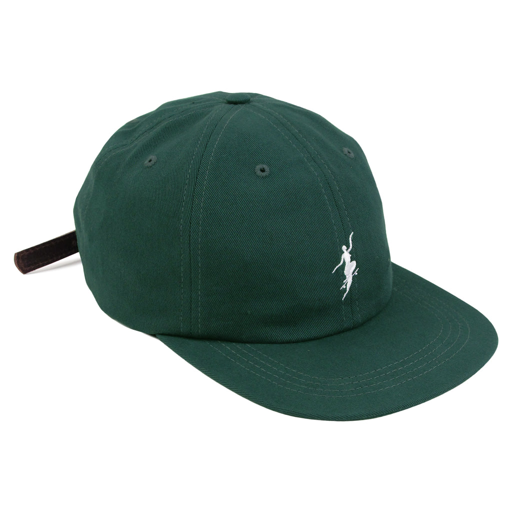 Polar Skate Co No Comply Cap in Botanical Green
