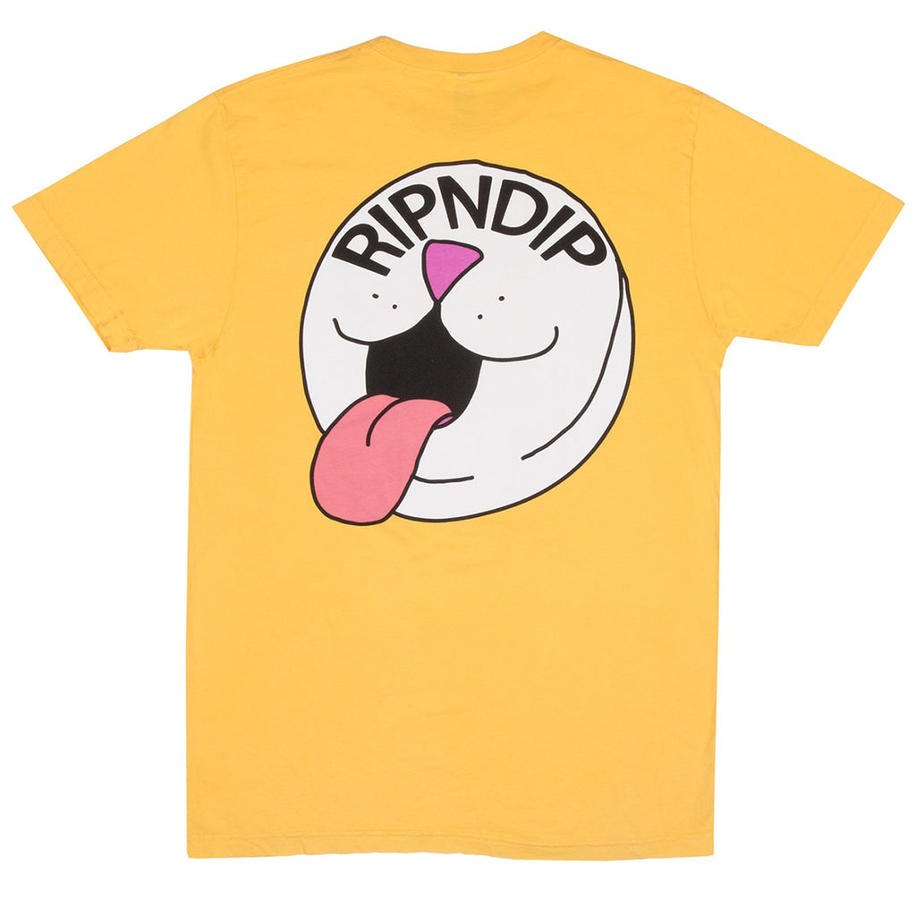 RIPNDIP Pill T Shirt in Primrose Yellow