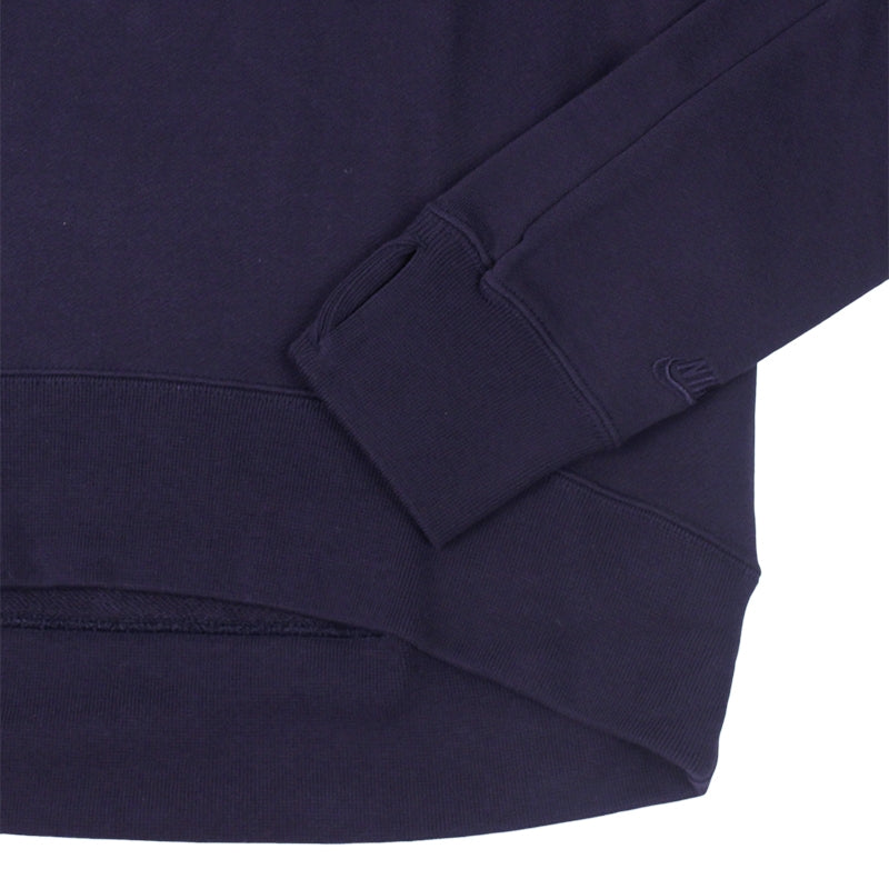 Nike SB Everett Crew Fleece Sweatshirt in Obsidian - Cuff