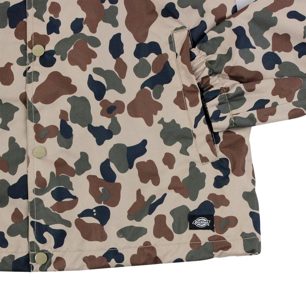 Dickies Torrance Jacket in Duck Camo - Cuff