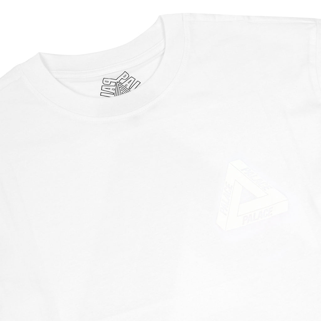 Palace Olympic T Shirt in White - Detail