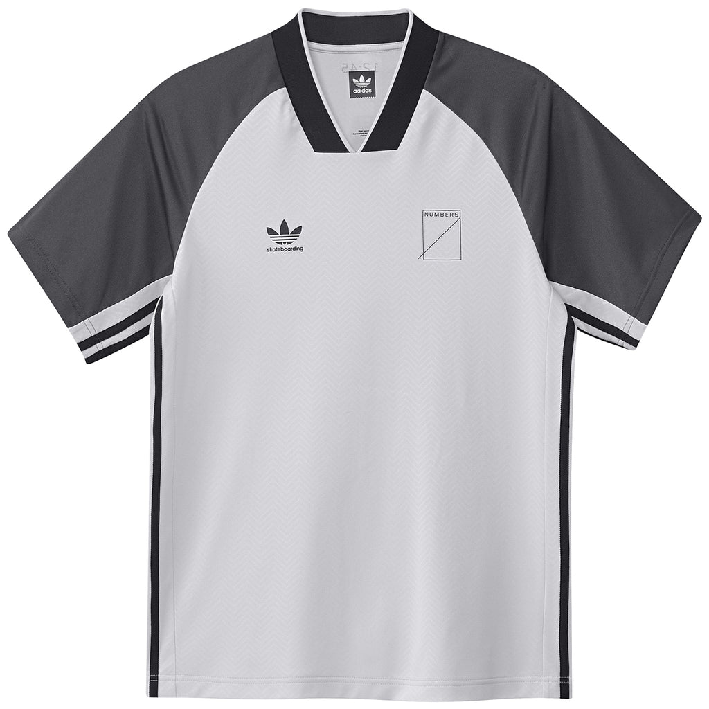 Adidas x Numbers Edition Jersey in Black / Grey One / Carbon