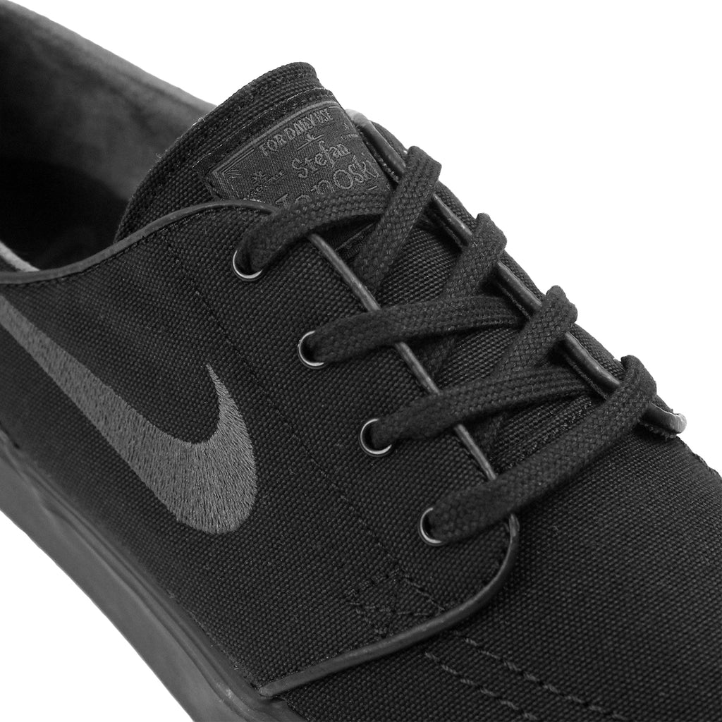 Nike SB Stefan Janoski Canvas Shoes in Black / Anthracite - Laces