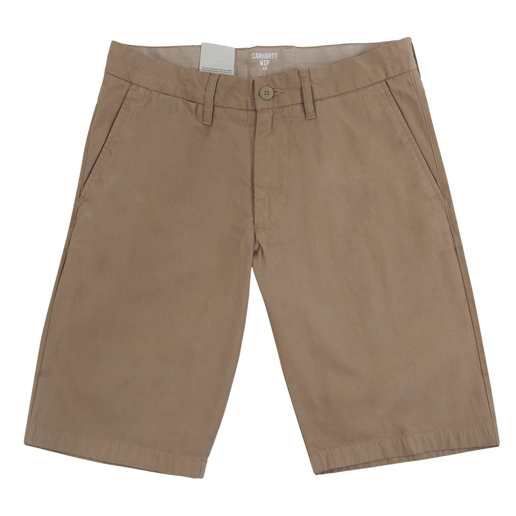 Carhartt Johnson Short in Leather - Profile
