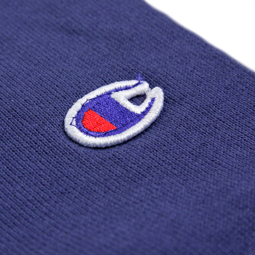 Champion Reverse Weave Crew Neck Sweatshirt in ISB Blue - Detail 2