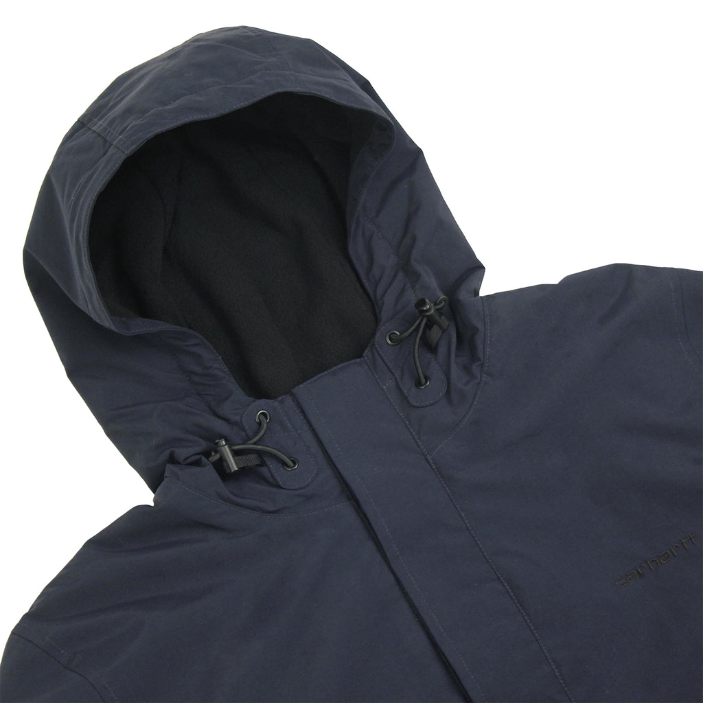 Carhartt Neil Jacket in Navy / Black - Detail