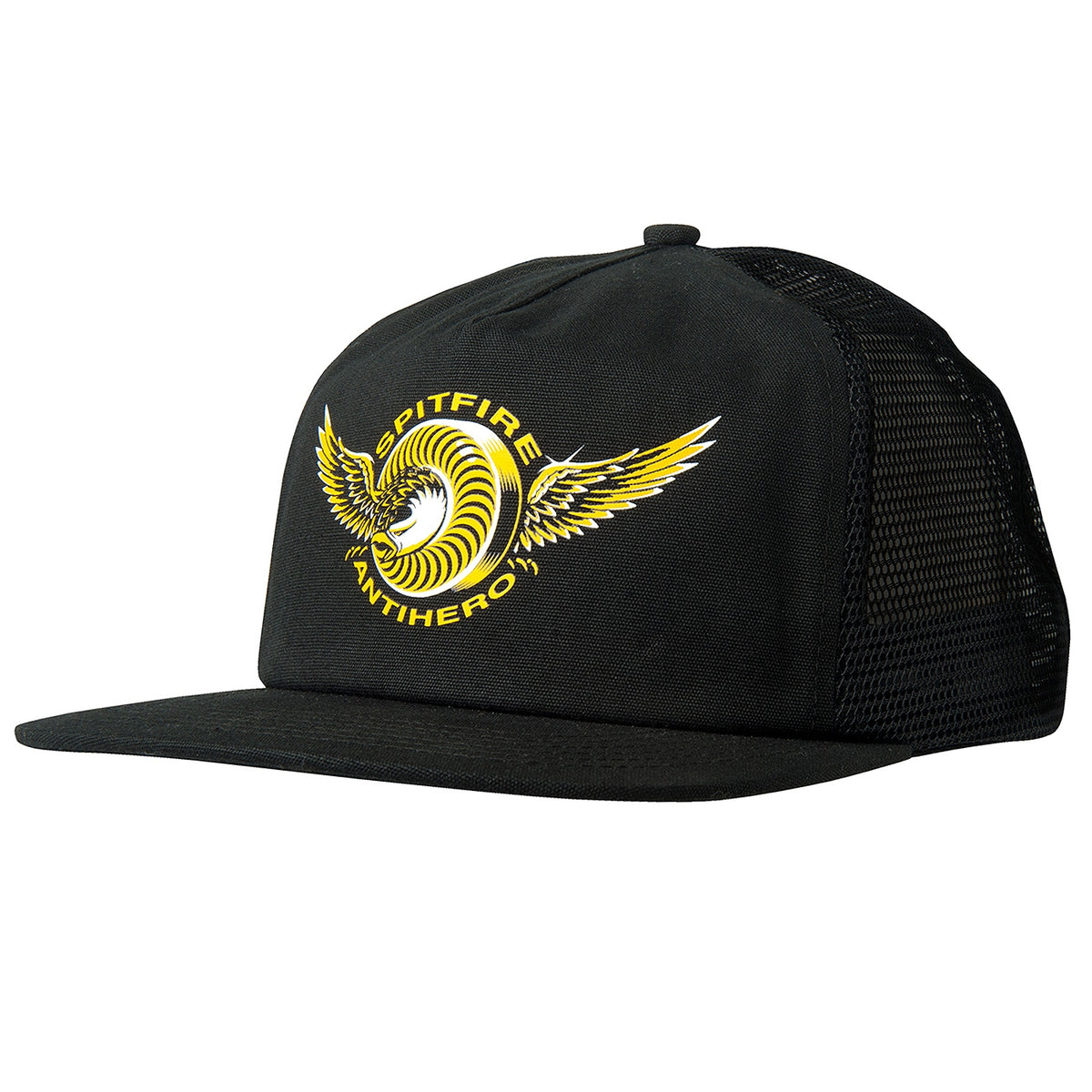 Trucker Cap in Black by Spitfire Wheels x Anti Hero  52350d2a197