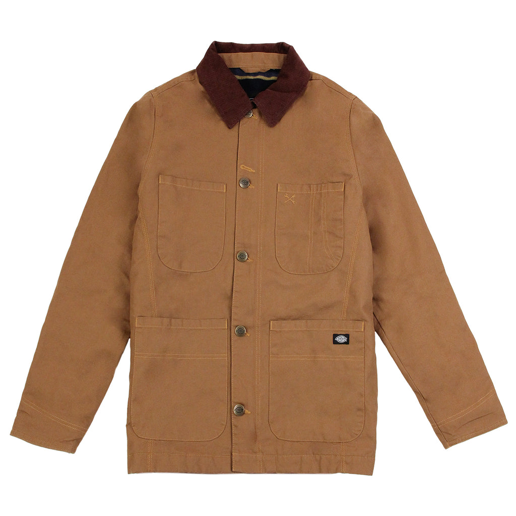 Dickies Thornton Jacket in Brown Duck
