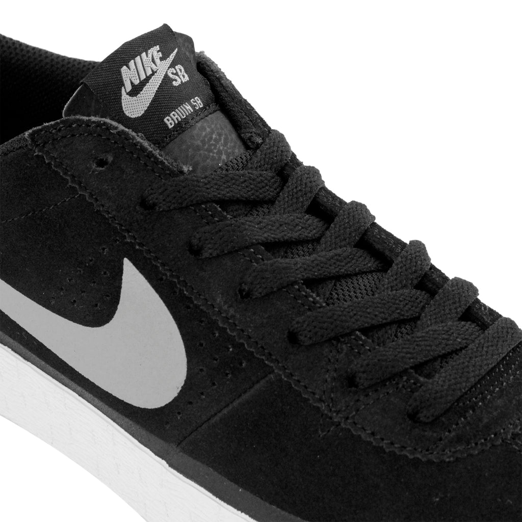 cheap for discount bbc2f 2fd01 Nike SB Bruin Premium Shoes in Black   Base Grey - White - Laces