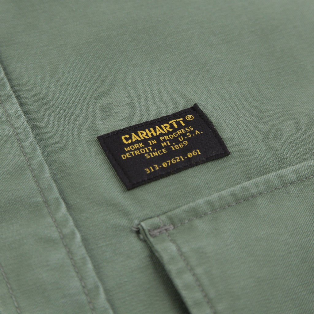 Carhartt Anson Shirt Jacket in Dollar Green - Label