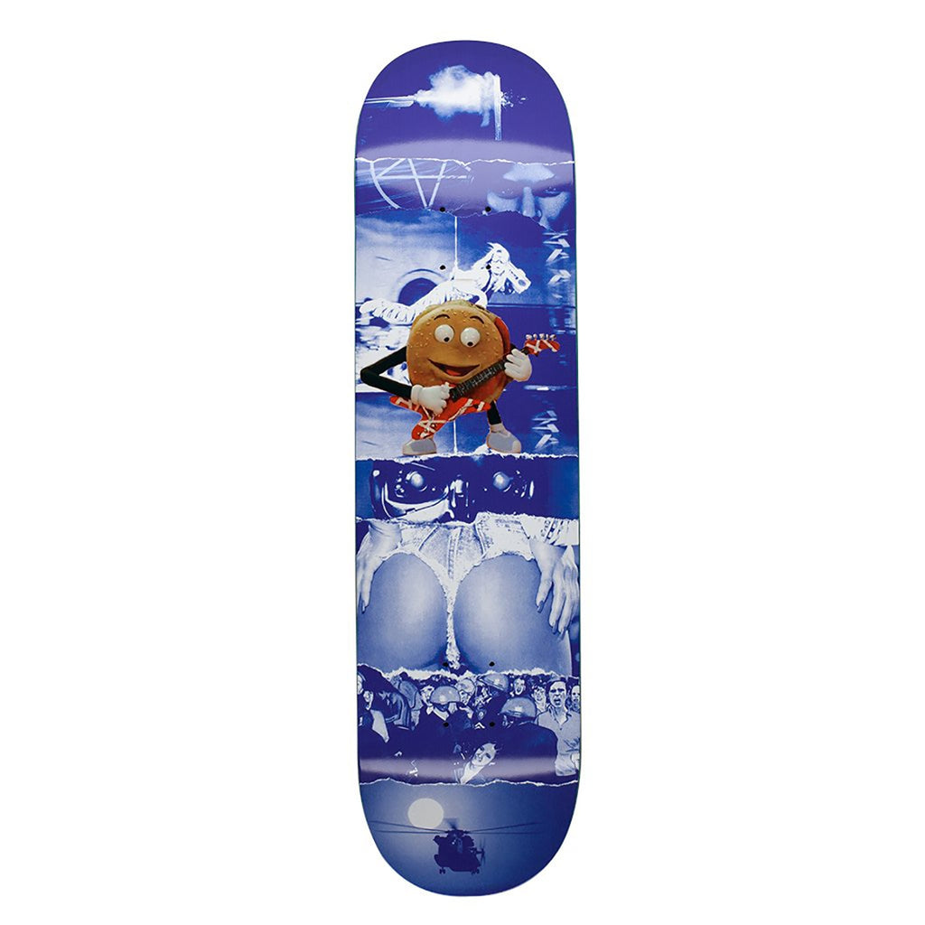 Fucking Awesome AVE Blue Burger Skateboard Deck in 8.5""