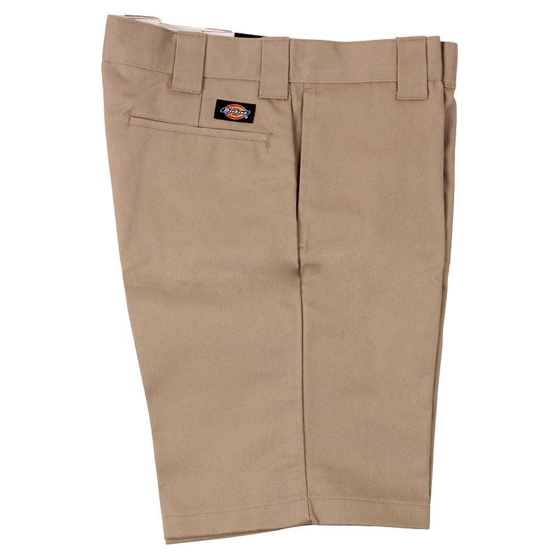 Dickies 273 Slim Fit Work Shorts in Khaki