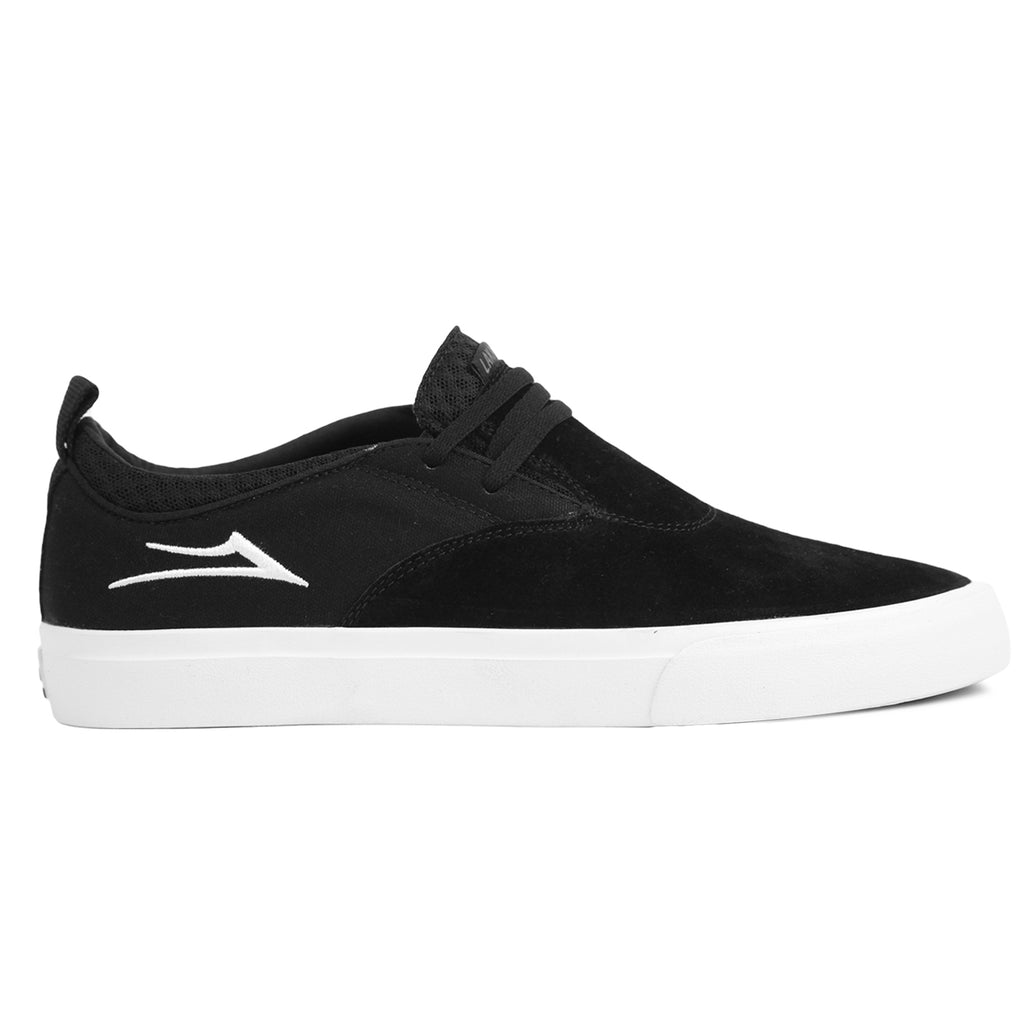 Lakai Riley 2 Skate Shoes in Black Suede