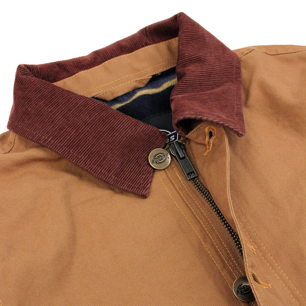 Dickies Thornton Jacket in Brown Duck - Detail
