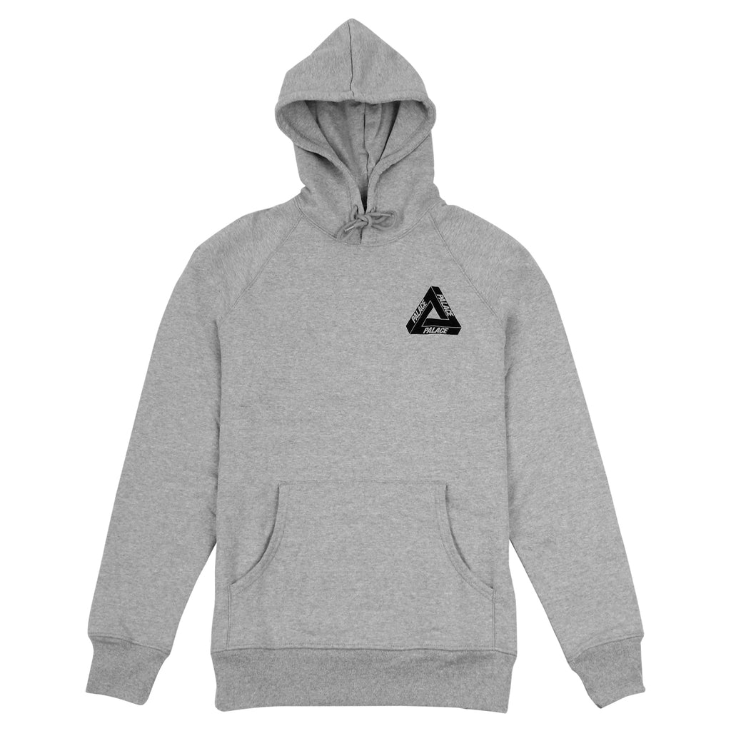 Palace Drury Yard Hood in Grey - Front