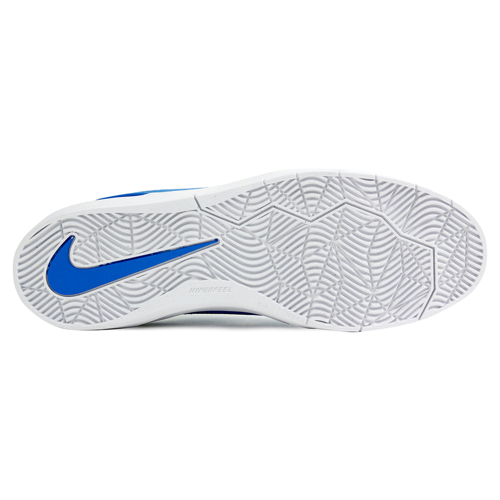 Nike SB Janoski Hyperfeel Shoes in Photo Blue / White-Obsidian - Sole