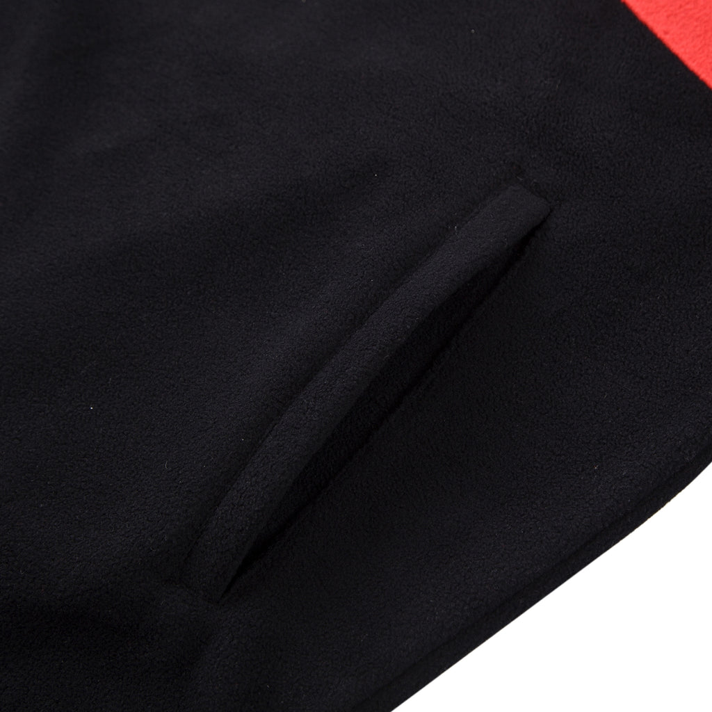 Helas Quarter Zip Fleece in Black - Pocket