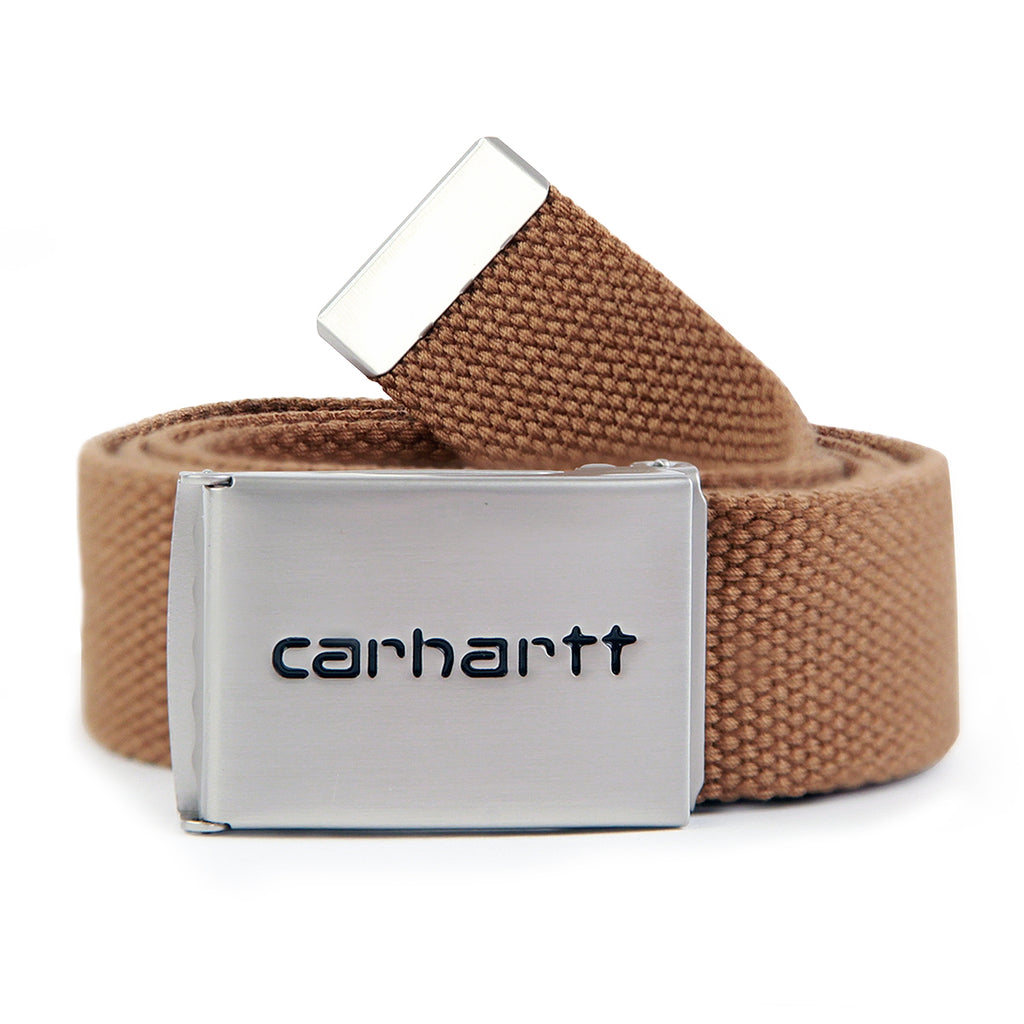 Carhartt Clip Belt Chrome in Hamilton Brown