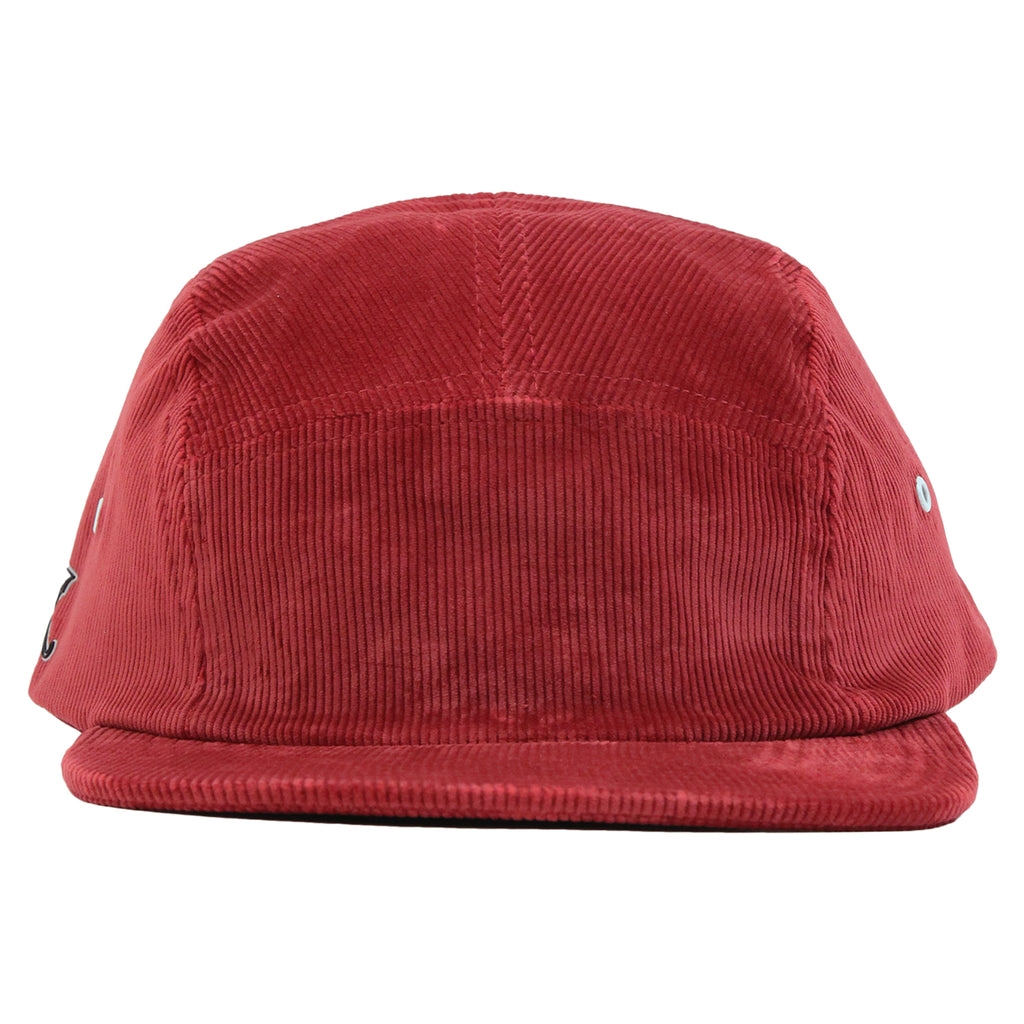 Helas Sunday 5 Panel Cap in Burgundy - Front