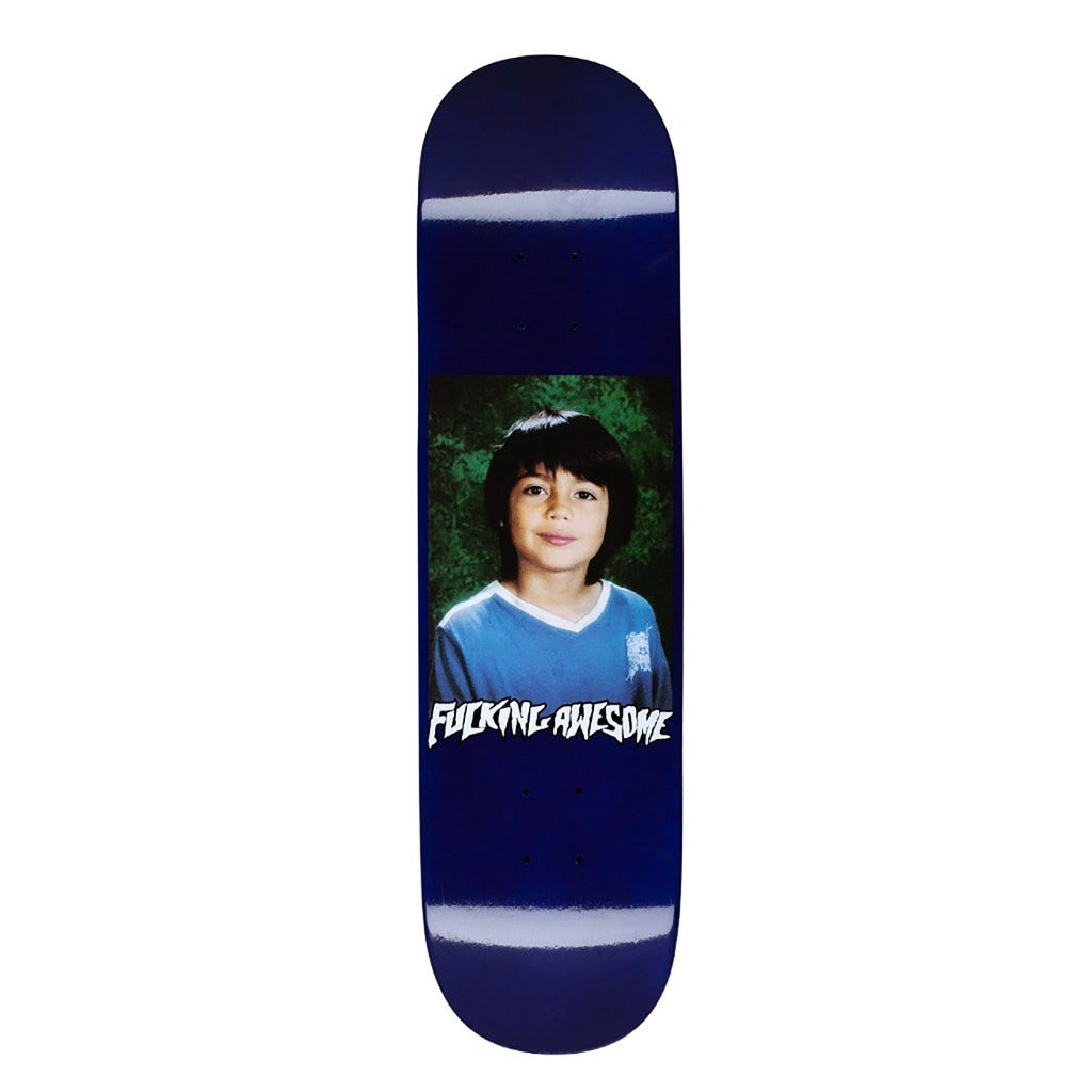 Fucking Awesome Sean Class Photo Dipped Navy Skateboard Deck in 8.25""