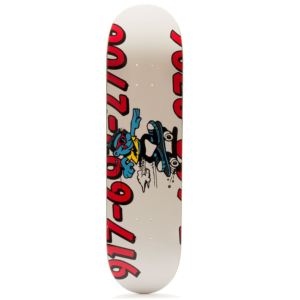 Call Me 917 Double Dare Skateboard Deck in 8.18""