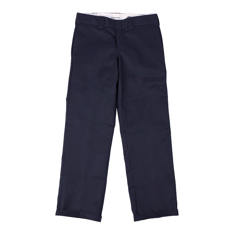 Dickies 873 Slim Straight Work Pant in Dark Navy - Legs