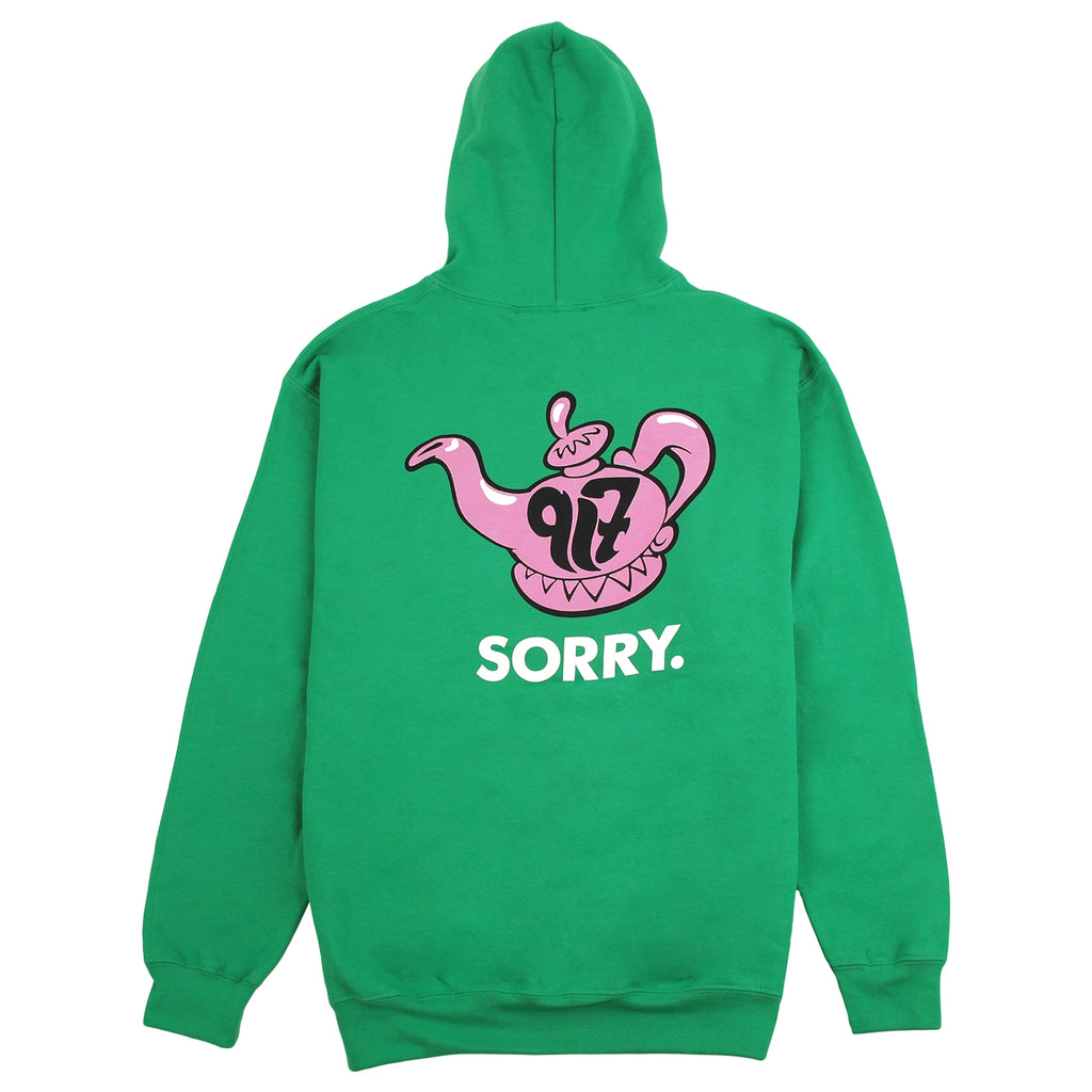 Call Me 917 Really Sorry Hoodie in Green