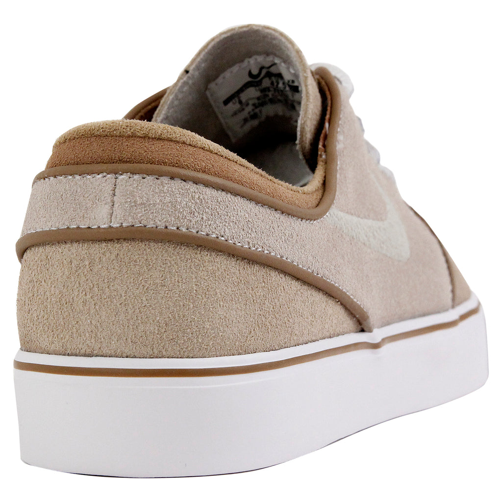 Nike SB Janoski OG Shoes in Reed / Reed - Stone - Rocky Tan - Heel