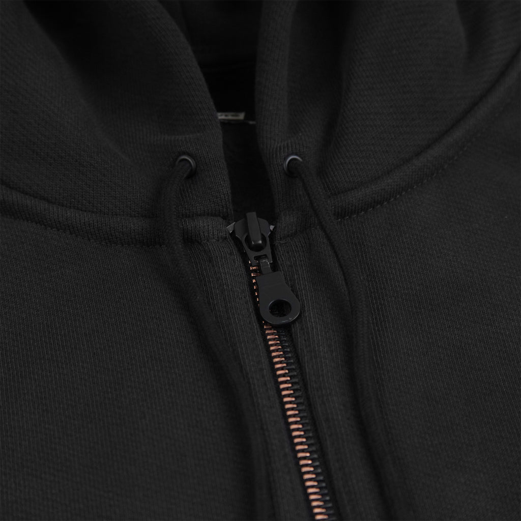 Levis Skateboarding Full Zip Hoodie in Jet Black - Zipper