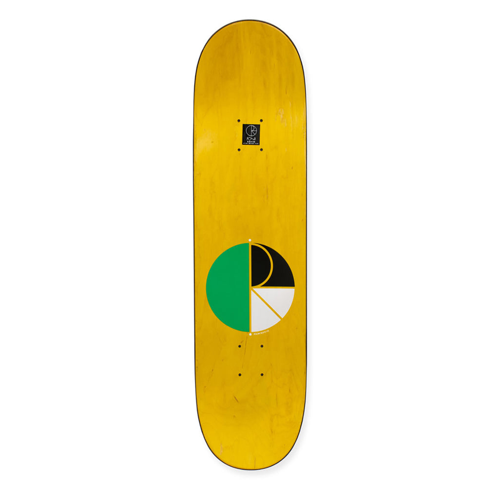 "Polar Skate Co Kevin Rodrigues Green Nose Deck in 8.25"" - Top"