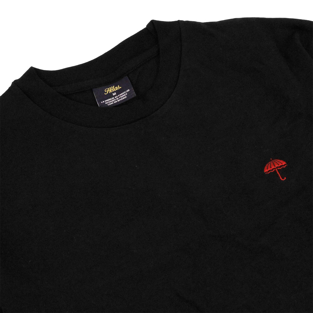 Helas Classic L/S T Shirt in Black - Detail