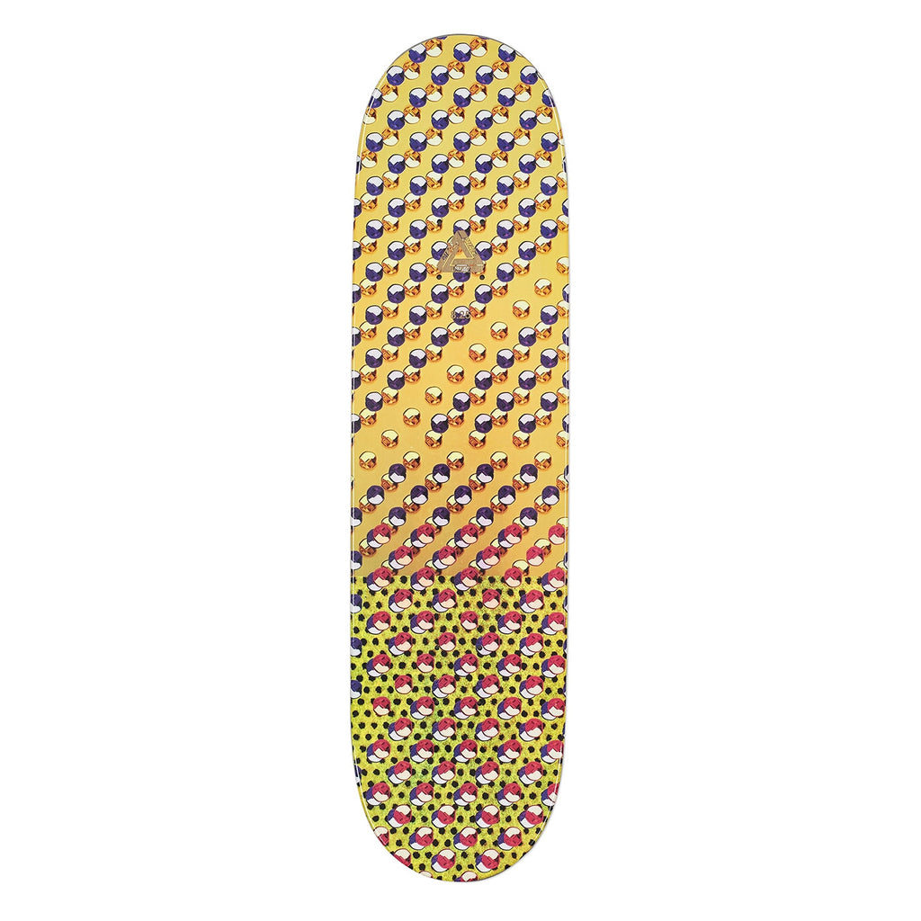 "Palace Clarke Pro S13 Skateboard Deck in 8.25"" - Top"