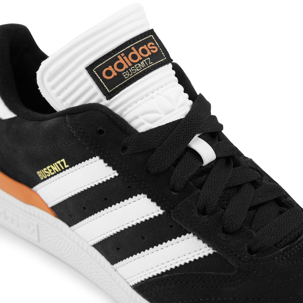 promo code 4885e f21c8 Adidas Skateboarding Busenitz Shoes in Core Black  White  Craft Orange -  Detail