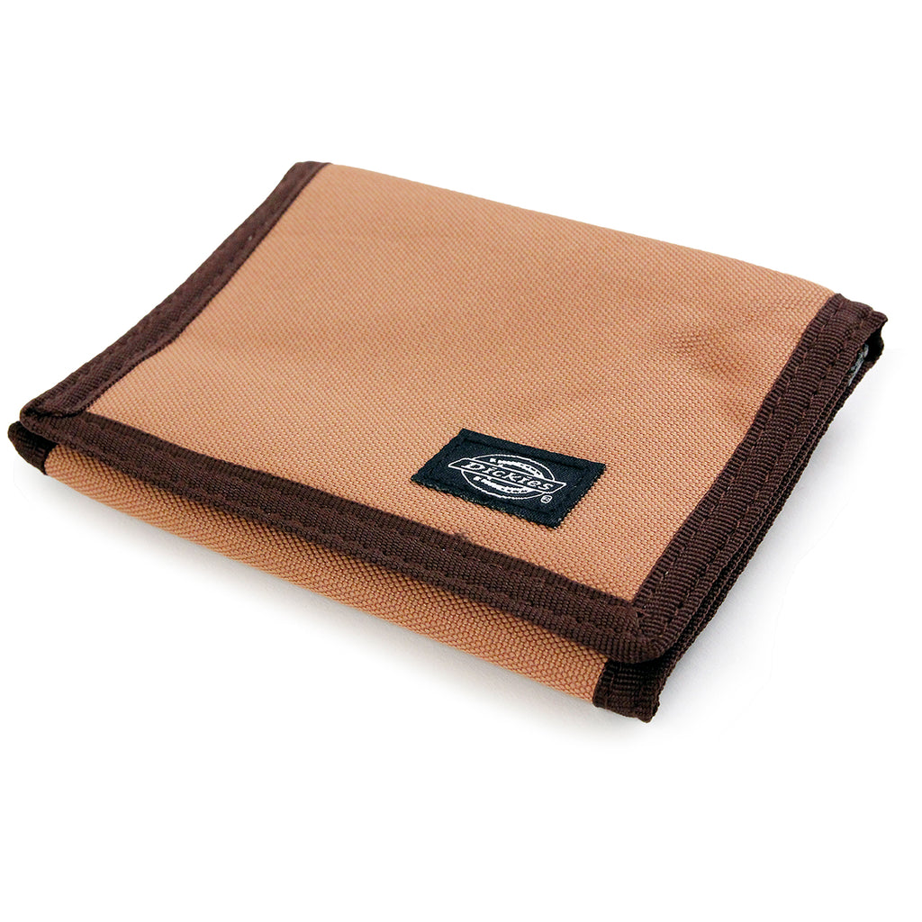 Dickies Crescent Bay Wallet in Brown Duck - Detail
