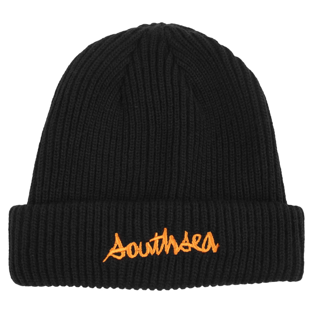 Bored of Southsea x Chocolate Skateboards Chunk The World Beanie in Black