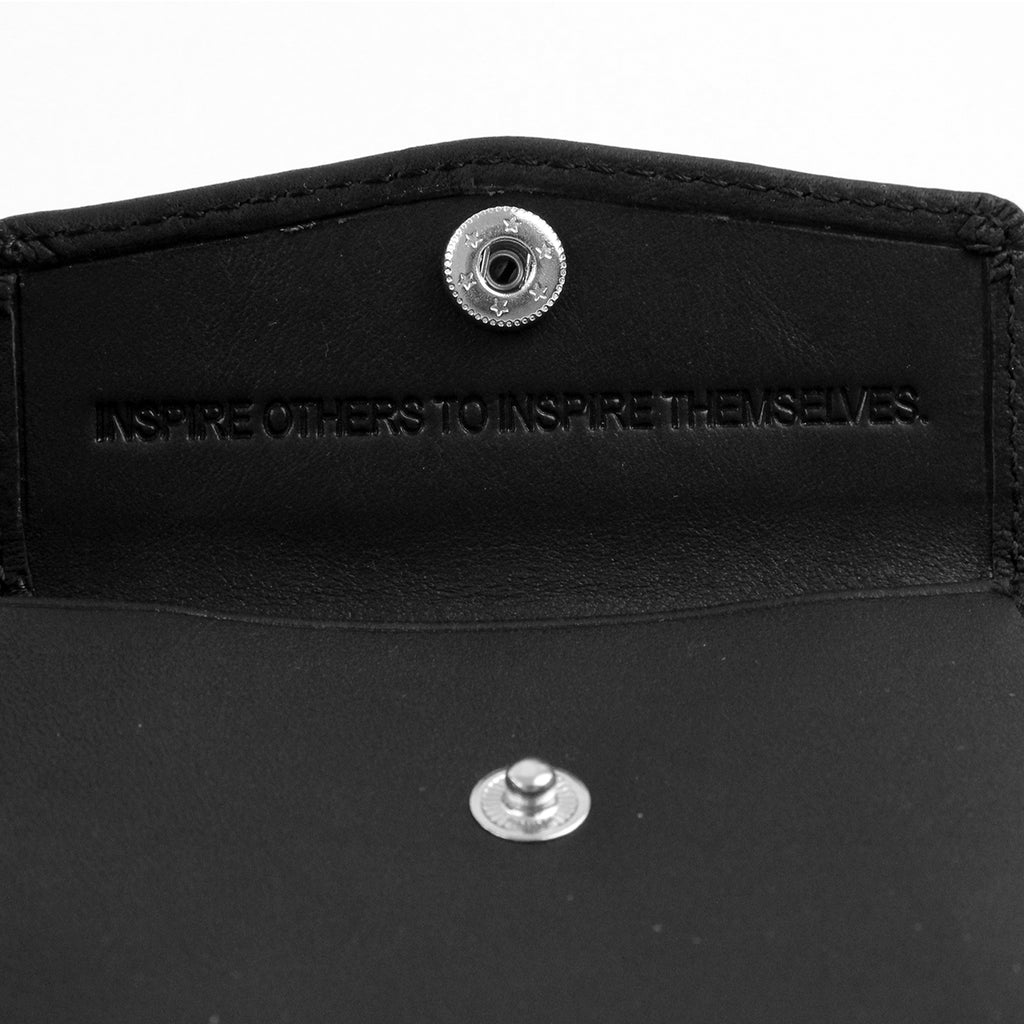 Polar Skate Co No Comply Wallet in Black - Pouch