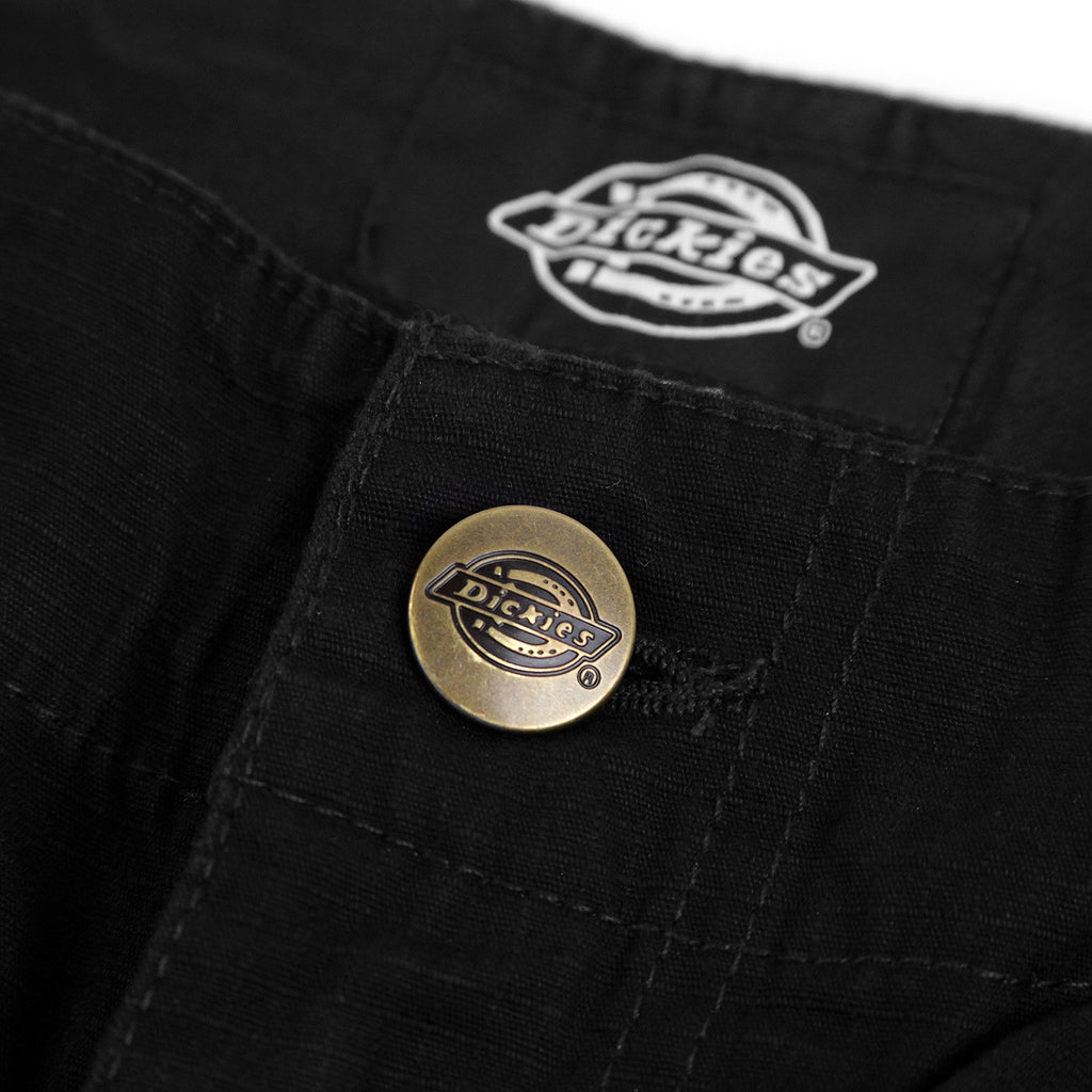 Dickies New York Pant in Black - Button